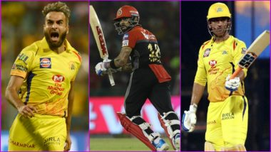RCB vs CSK, IPL 2019 Match 39, Key Players: Imran Tahir to Virat Kohli to MS Dhoni, These Cricketers Are to Watch Out for at M.Chinnaswamy Stadium in Bengaluru